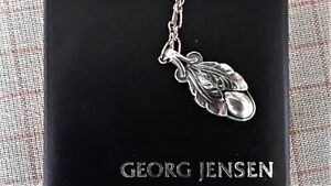GEORG JENSEN Pendant Of The Year 2008, Sterling Silver, Oxidised, Figaro Chain