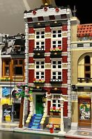 LEGO CUSTOM MODULAR BUILDING TOWN HOUSE fits with 10218 10246 10251 MOC 584 np