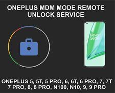 Oneplus MDM Mode Unlock Service, Oneplus 5T, 6, 6T Pro, 7, 7 Pro, 7T, 8, 9, Pro