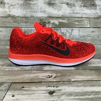 Nike Air Zoom Winflo 5 Bright Crimson Red Mens Running Shoes AA7406-600 Sizes