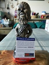 Peter Mayhew Signed Chewbacca Bobblehead San Francisco Giants 2015 Star Wars Day