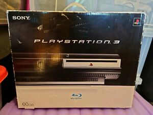 PlayStation 3 60GB Ps3 BOXED Console untested
