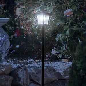 "42"" Mini Street Vintage Outdoor Garden Post Solar Lamp Post Light Lawn - Adju..."