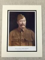 1900 Military Print Portrait General Lord Chesham Imperial Yeomanry Africa