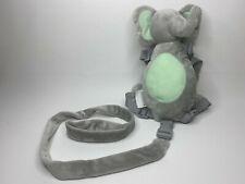 Toddler Child Safety Harness Leash Plush Reins Elephant Back Pack Gold Bug