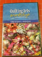 Quilting Arts Workshop - Collage Lace Scarves Marinda Stewart - DVD 2008 - NEW