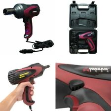 """Premium 1/2"""" Electric Impact Wrench Gun Kit 12V with Sockets and Case Power Tool"""