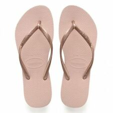 202dd224c5f4 Havaianas Slim Ballet Rose Rubber Flip Flops 7 8 US Women   37 38