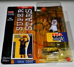 2000 Vince Carter Mattel Super Stars Team USA Uniform free shipping