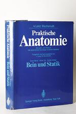 PRATICO ANATOMIA BD1/4 GAMBA E STATICA, LANZ & WACHSMUTH 1972 (78693)