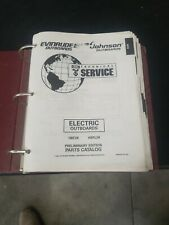 1995 OMC Johnson Evinrude  Service Manuals. Large Lot!!!
