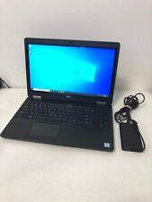 New listing Dell Latitude E5570 Intel i7-6600U Touchscreen 256Gb Ssd 16Gb Radeon R7 M360 W3