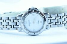 RAYMOND WEIL WOMEN'S WATCH QUARTZ 25MM STEEL TANGO TOP CONDITION PEARL