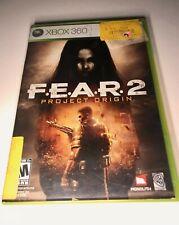 FEAR 2 Project Origin XBOX 360Tested CIB