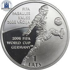 Münzen mit Fußball-Motiven aus Europa