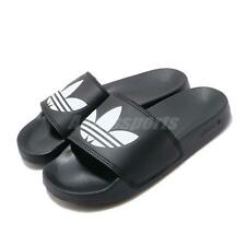 adidas Originals Adilette Lite Black White Men Women Unisex Sandals Slide FU8298