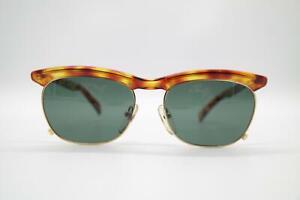 Vintage Jean Paul Gaultier 56-0273 Braun Gold Oval Sonnenbrille sunglasses NOS