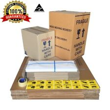 35 moving boxes Cardboard Packing Boxes Removal Moving Storage Heavy Duty Carton