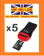 5X USB 2.0 Memory Card Reader Adattatore Per Micro SD SDHC 2 GB 4 GB 8 GB 16 GB 32 GB TF