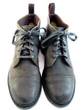 """Allen Edmonds """"PATTON"""" Cap-Toe Boots with Dainite Soles 8.5 D Grey  (651)"""