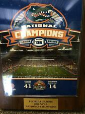 2006 NCAA National Football Championship Plaque