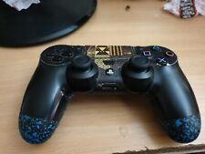 Scuf Military Agarre añadido PS4 Dualshock 4 Controlador | Azul |