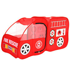 Fire Engine Design Folding Portable Play Shades Playpen Tent Yard Red for Baby