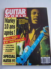 MAGAZINE GUITARE WORLD N° 21 , BOB MARLEY . BON ETAT .