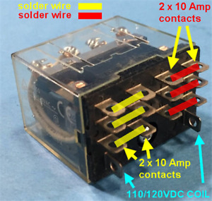 SB-1000 K2-110 Replacement ON/OFF Relay