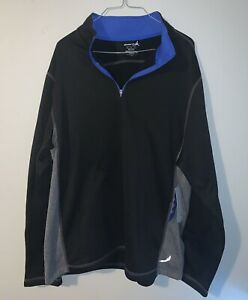 Exertek Pullover Jacket - Quarter Zip Men's Large 100% Polyester New With Tags