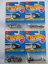 Hot Wheels Race Team Series 1994 Complete 4 Car Set Original Cards
