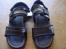 Fan Fargo sandalia para hombre/ sandals for men leather slides with ankle strap