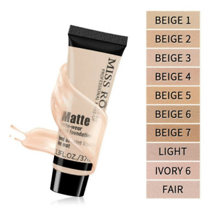 Foundation Base Moisturizer Oil Control Concealer Liquid Long Lasting Makeup