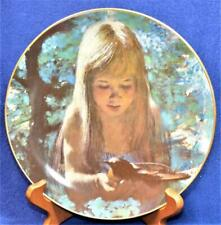 1980 Viletta Dawn by Thornton Utz Collector Plate Precious Moments Series #5