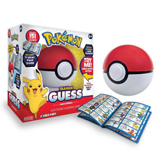 Pokemon Trainer Guess Who Pokeball KANTO Edition Electronic Guessing Game -