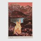 """Andy Warhol Rare Vintage 1987 Original Neuschwanstein 35 3/4"""" x 24 1/2"""" Poster"""