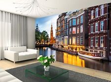 City Amsterdam  Wall Mural Photo Wallpaper GIANT DECOR Paper Poster Free Paste