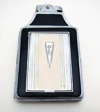 Rare Ronson Enamel ART DECO Cigarette Lighter Compact Combination Case Vintage