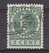 NVPH Nederland Netherlands nr 177 used PERFIN ? Wilhelmina 1926-1939 Pays Bas