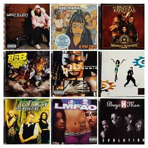 CD LOT - Buy 5 CDs and get FREE SHIPPING: Reggae, Rapper, Hip Hop,  Attitude