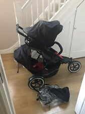 phil&teds  explorer double pram
