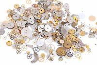WATCH PARTS Assortment, Steampunk Gears, Tiny Watch Parts, Brass Copper fin0515