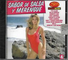 Sabor de SALSA y MERENGUE vol. 4 - CD - MUS