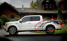 2015 - 2018 F-150 Raptor Splash truck bed Mud vinyl graphics decals F150 Ford