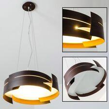 Lampada Soffitto Luce Salotto Illuminazione Metallo Marrone Cucina Camera Letto
