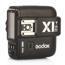 Godox X1T-N TTL 2.4G Wireless Camera Flash Trigger Transmitter for Nikon DSLR