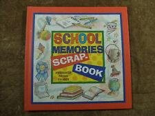 School Memories Scrap Book - Kindergarten through 5th Grade - by Nichols - 2000