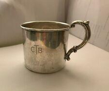 Vintage Sterling Silver Baby Mug Saks Fifth Avenue 47 grams