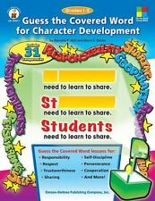 Guess the Covered Word for Character Development, Grades 1 - 5 Four-Blocks Lite