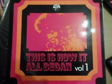 THIS IS HOW IT ALL BEGAN VOL 1 -John Lee Hooker/Roy Milton/Percy Mayfield ETC LP